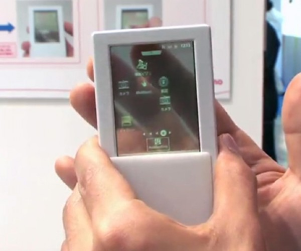 Transparent Fujitsu Android Smartphone Offers Two-Sided Touchscreen