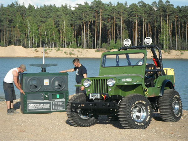 full scale rc jeep
