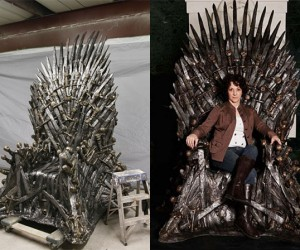 Game of Thrones Iron Throne Replica Can Be Yours for a Kingly Sum