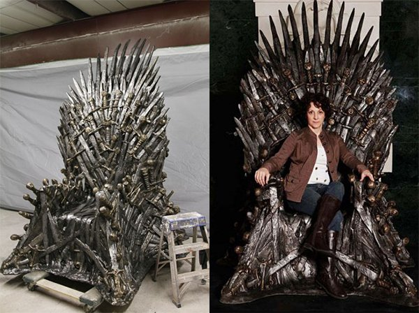 Game Of Thrones Iron Throne Replica Can Be Yours For A