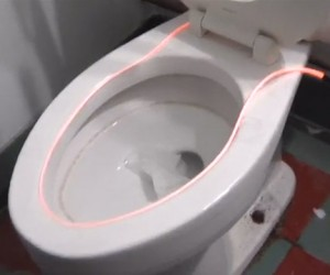 Glowing Toilet Light is Perfect for the Wee Hours of the Night