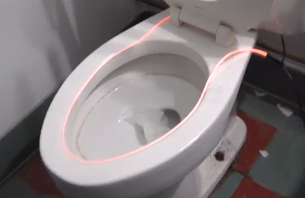 how to get ring out of toilet