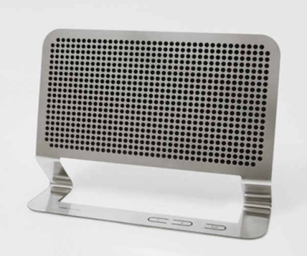 The Flattest Boombox You've Ever Seen