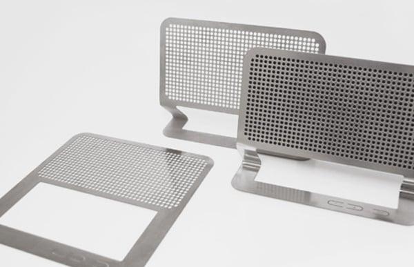 hannes harms flat speaker boombox steel