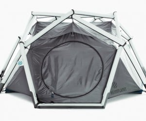Hemiplanet Cave: The Tent You Can Put up in Minutes