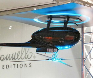 Helicopter Ceiling Fan Lands Upside-Down