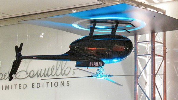 Helicopter Ceiling Fan Lands Upside Down Technabob