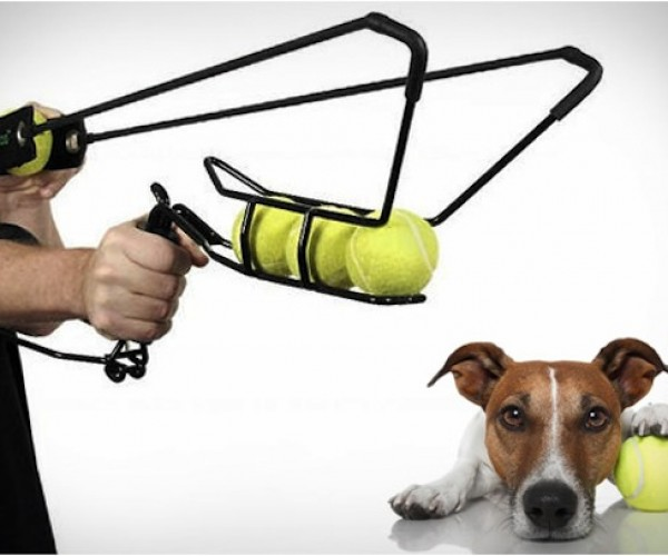 Hyperdog Tennis Ball Launcher Makes Terrorizing Neighborhoods More Fun