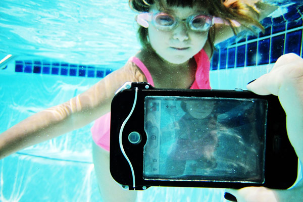iphone scuba suit case waterproof kid