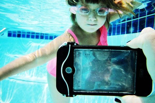iphone scuba suit case waterproof underwater