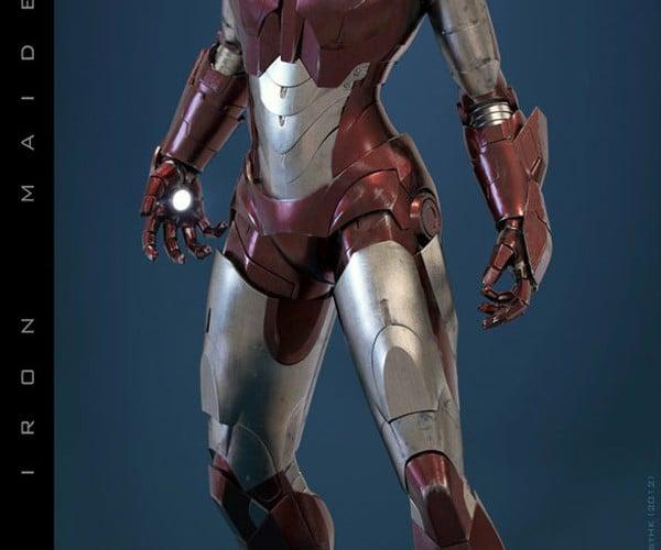 Iron Woman Concept Costume: I Am Iron Woman, Hear Me Roar