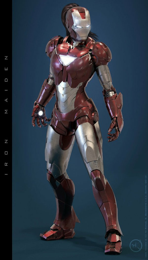 Iron Woman Concept Costume: I Am Iron Woman, Hear Me Roar ...