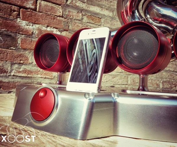 ixoost exhaust iphone ipod dock 3