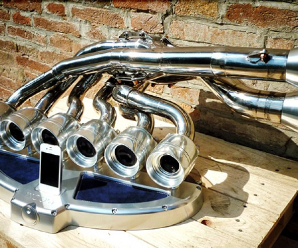 ixoost exhaust iphone ipod dock 8