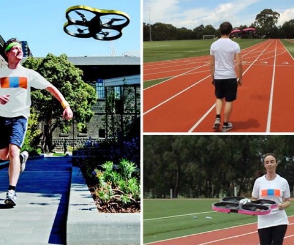 Joggobot: The Flying Quadrocopter Jogging Companion