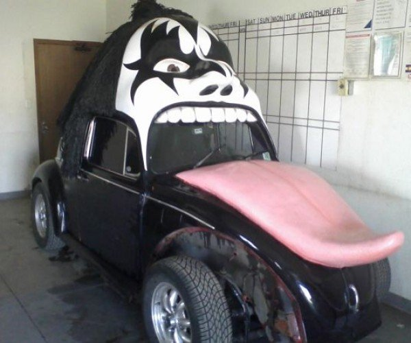 Gene Simmons VW Bug: KISS $10,000 Goodbye