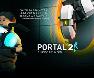 LEGO Portal Set: Vote for It. For Science.