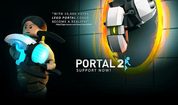 lego portal 2 cuusoo