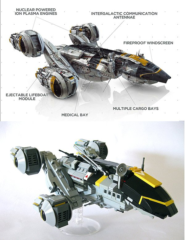 lego prometheus by andrew lee onosendai2600