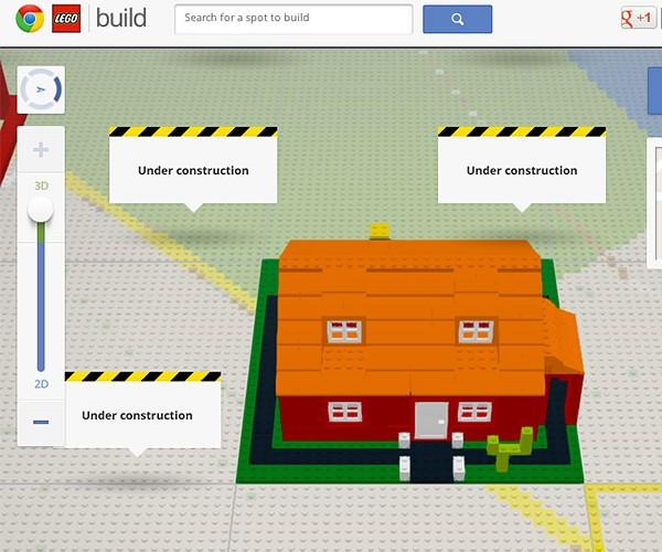 Google Chrome and LEGO Team up to Build with Virtual Bricks