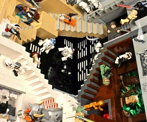 M.C. Escher's Relativity: LEGO Star Wars Edition