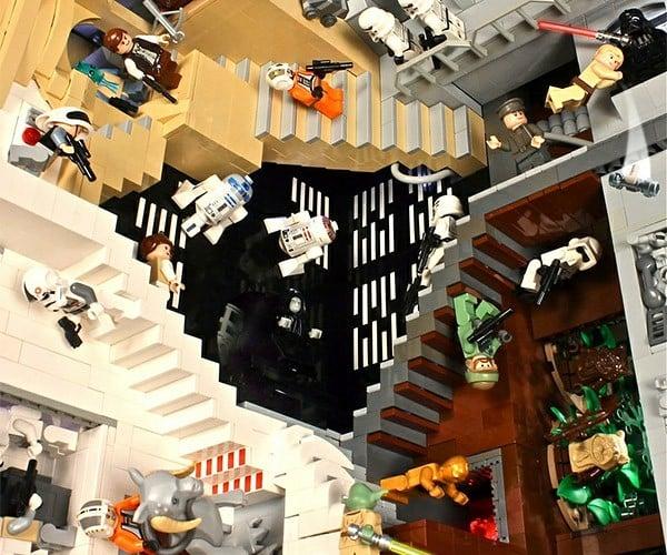 M.C. Escher's Relativity: LEGO Star Wars Edition