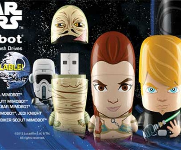 Slave Leia Flash Drive is Chained to your Data