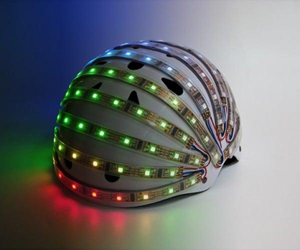 LumaHelm Light-up Helmet Improves Cyclist Safety