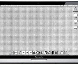 Mac OS Old School Desktop Would Look Smashing on Retina MacBook Pro