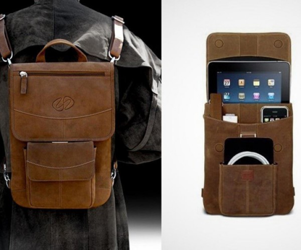MacCase Vintage Leather Flight Jacket Carries All Your Apple Gear