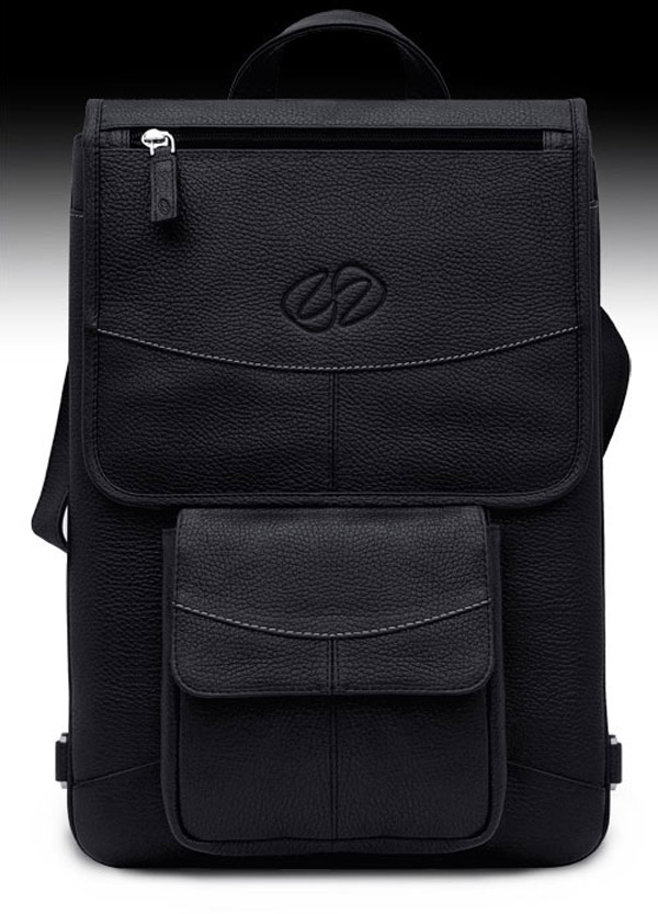 maccase vintage leather backpack mac black