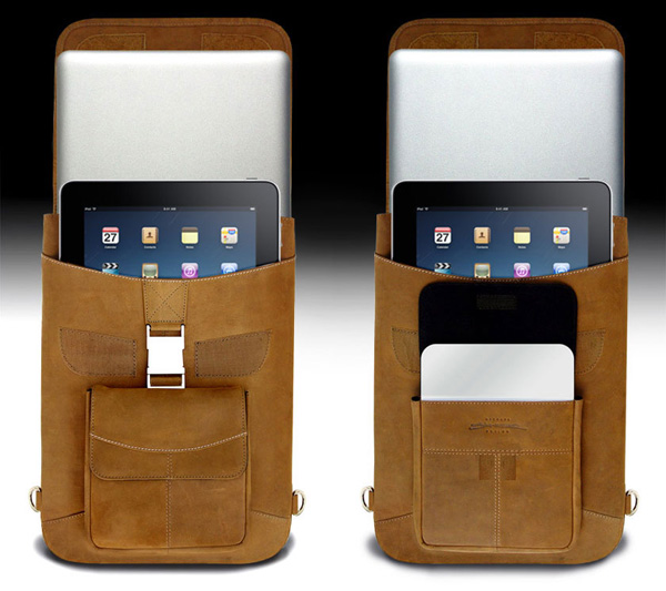 maccase backpack vintage leather apple ipad