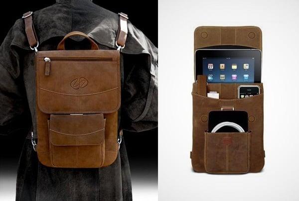 maccase backpack vintage leather apple ipad