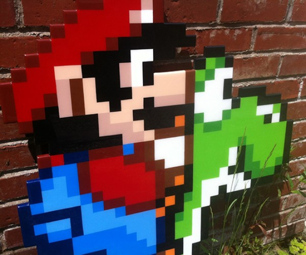 mario on yoshi by jacob ashley 3