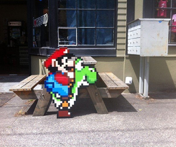 mario on yoshi by jacob ashley 4