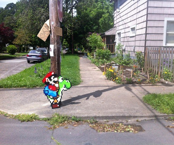 mario on yoshi by jacob ashley