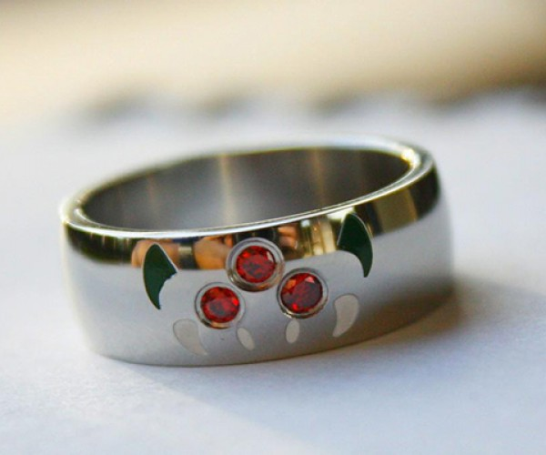 Metroid Ring Will Suck the Energy out of Your Other Rings