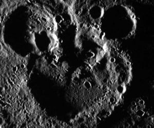 Mickey Mouse Found on the Surface of Mercury [Mercury Mouse?]