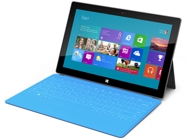microsoft surface tablet windows