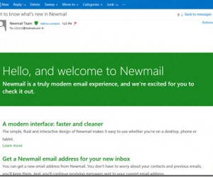 Move Over, Hotmail… It's Time for Newmail