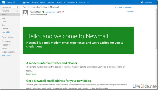 microsoft newmail 1