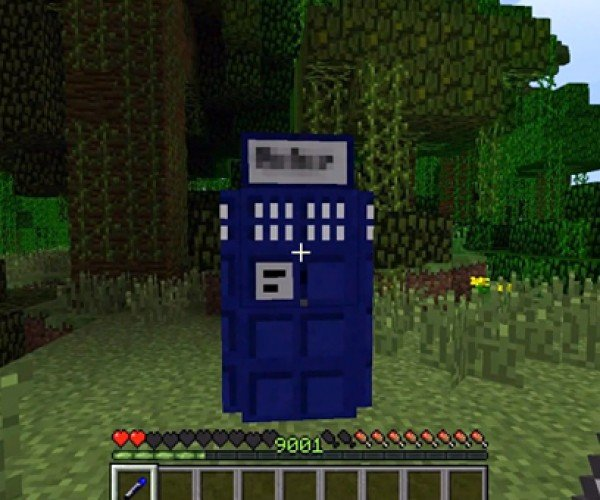 Minecraft TARDIS: Blockier on the Everywhere