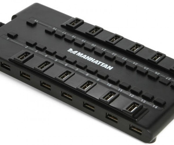 28-Port USB Hub: If You Need Any More, You Scare Me