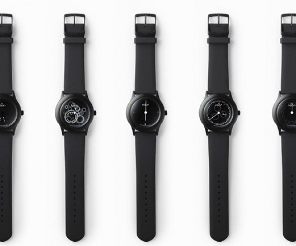 Nendo Dark Noon Watches for Those That Prefer The Dark Side