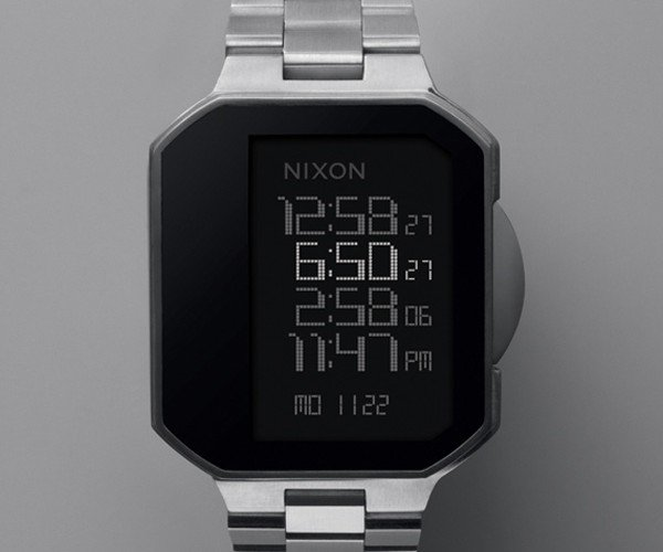 Nixon The Synapse Watch Offers Touch-Activated Geekiness