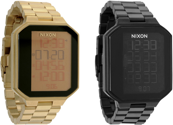 nixon the synapse watch digital gold black