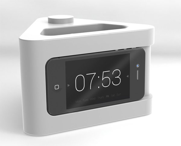 nookone iphone bedside dock alarm