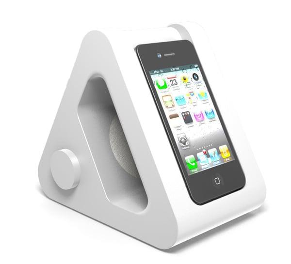 nookone iphone bedside dock alarm