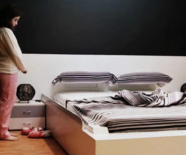 Smart Bed Tidies Itself for Lazy Human