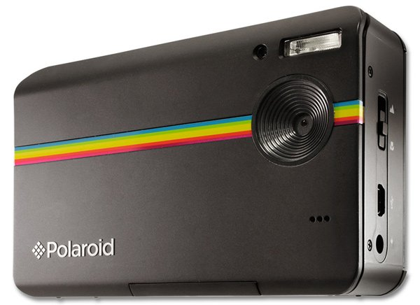 polaroid z2300 instant digital camera print black